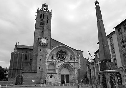 La cathédrale Saint-Étienne de Toulouse