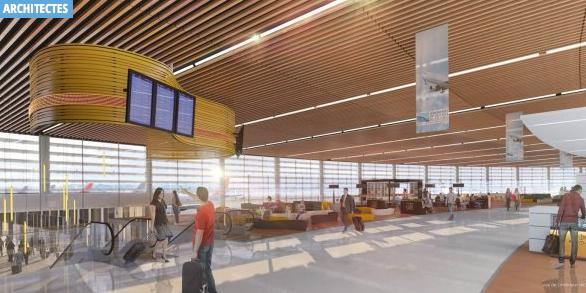 L'agence d'architectes Cardete & Huet va réaliser l'extension de l'aéroport Toulouse-Blagnac