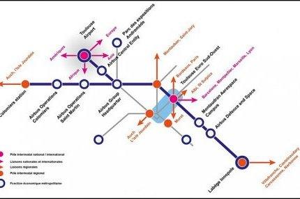 Toulouse. Les premières esquisses du projet de troisième ligne de métro