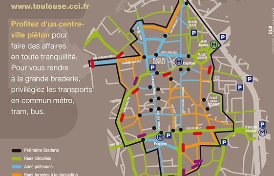 Toulouse : La Grande Braderie déballe en centre ville