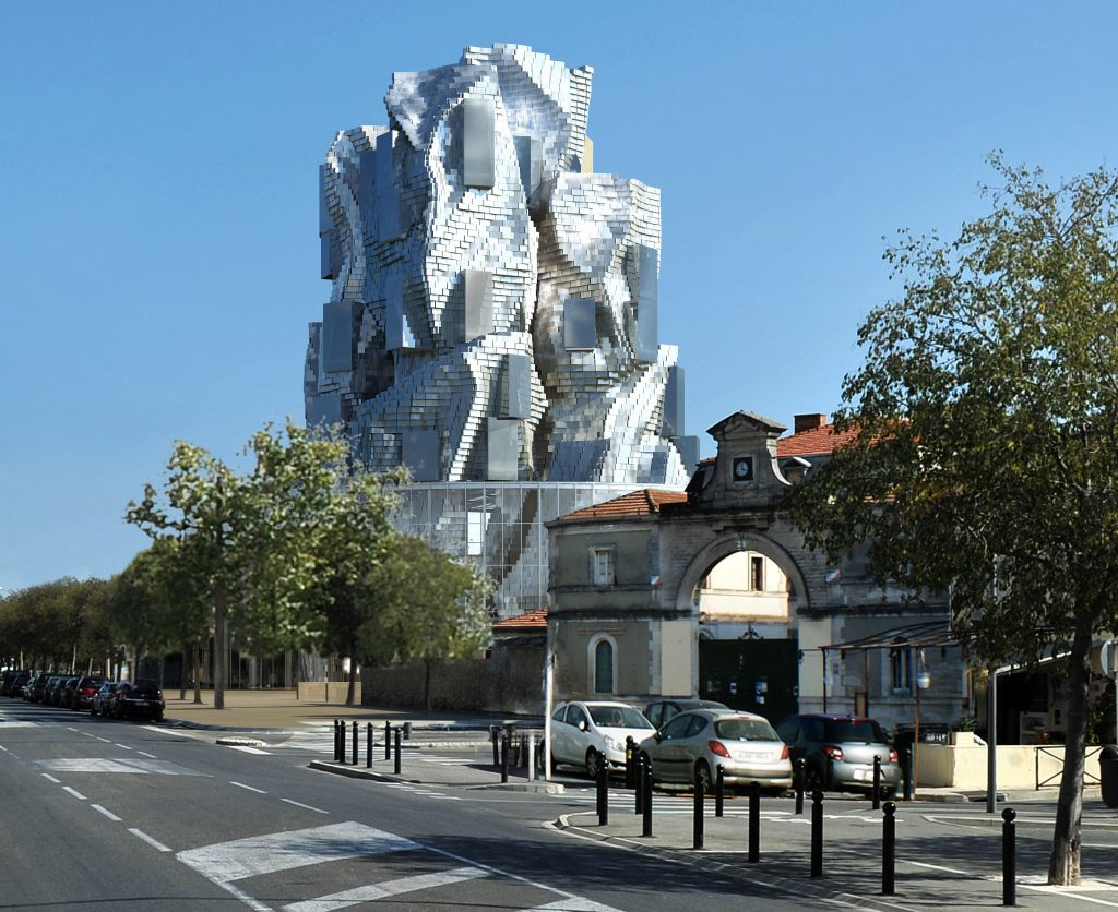 Frank O.Gehry imagine la tour de la Fondation Luma à Arles