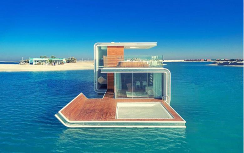 Une maison sous l'eau à Dubaï
