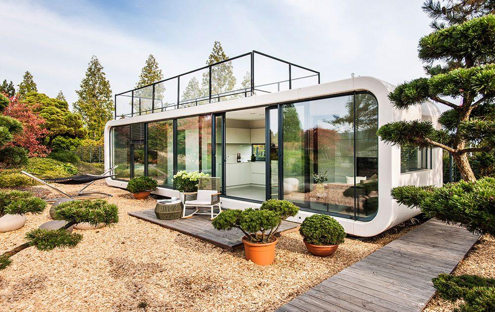 Une maison nomade design et écolo