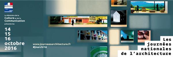 Journée nationale de l'architecture 2016