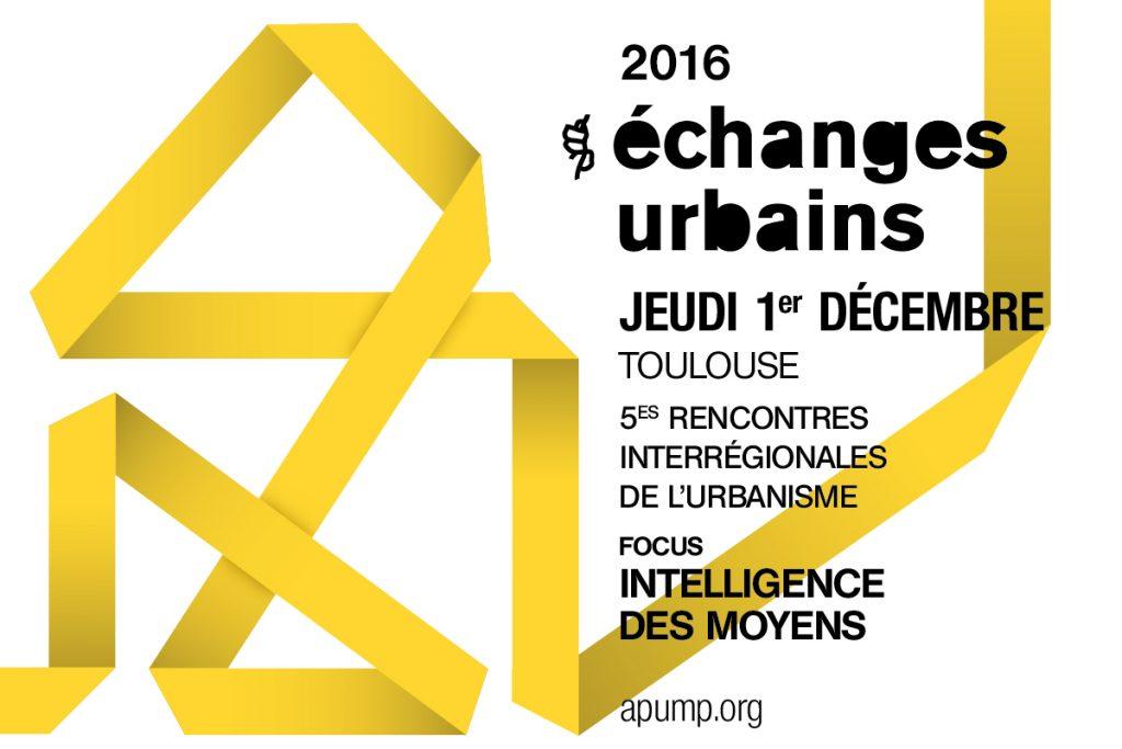 Echanges Urbains 2016|01.12.2016