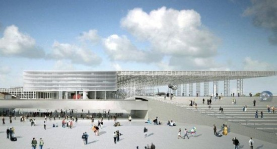 Lancement des travaux du nouveau Parc des Expositions