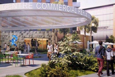 Reflets Compans: Le nouveau centre commercial du Centre-ville