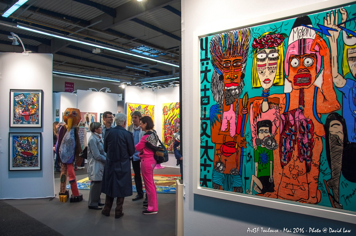 Salon international d 39 art contemporain de toulouse kansei for Salon international d art contemporain toulouse
