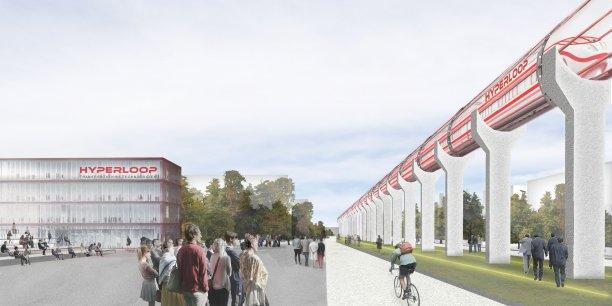 Toulouse choisie pour abriter le centre Hyperloop !
