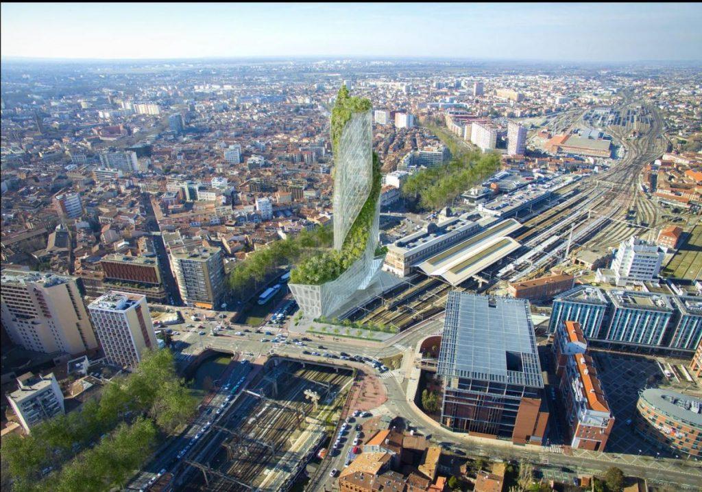 Daniel Libeskind signe le futur gratte-ciel de Toulouse