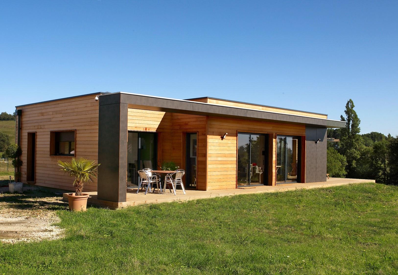 Construction maison bois gros oeuvre obtenez des id es de design int ressantes for Maison prefabriquee definition