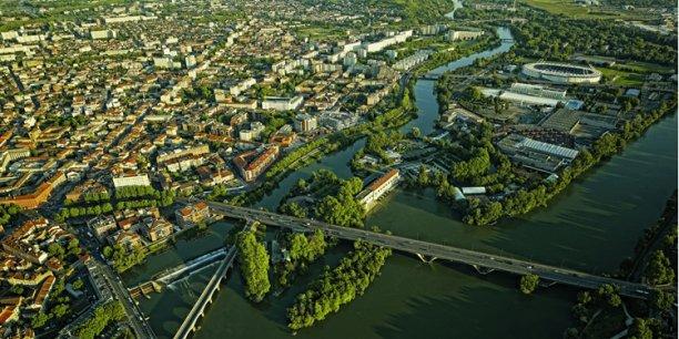 Après le futur «Petit Central Park «de Montauban, Toulouse songe aussi «Manhattaniser» l'île du Ramier