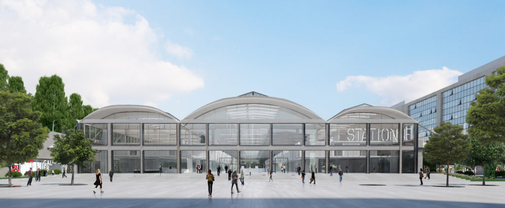 Station F, une gigantesque pépinière de Start-up