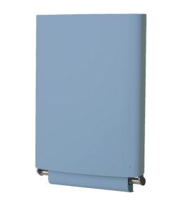 BJÖRK, Table à langer bleue repliée
