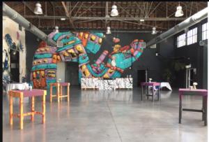 Espace Cobalt, Exposition Mister Freezer, septembre 2017, KANSEI, Graffiti, Art urbain