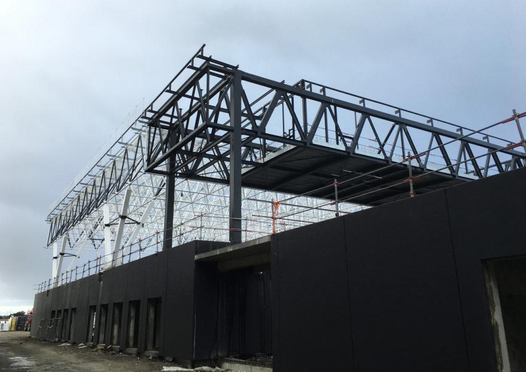 Le chantier du Parc des Expositions avance