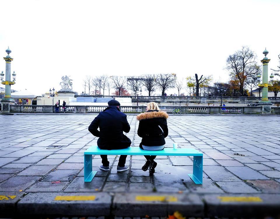 Naelou, le banc public 2.0 des amoureux