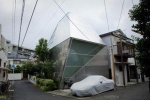 la maison contemporaine japonaise s 39 expose. Black Bedroom Furniture Sets. Home Design Ideas