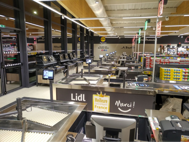lidl, ayguesvives, architecture, toulouse, kansei