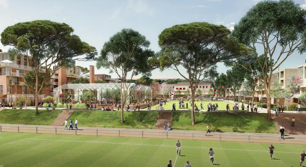 Quartier de la Soufflerie : un nouveau coeur de ville en 2023