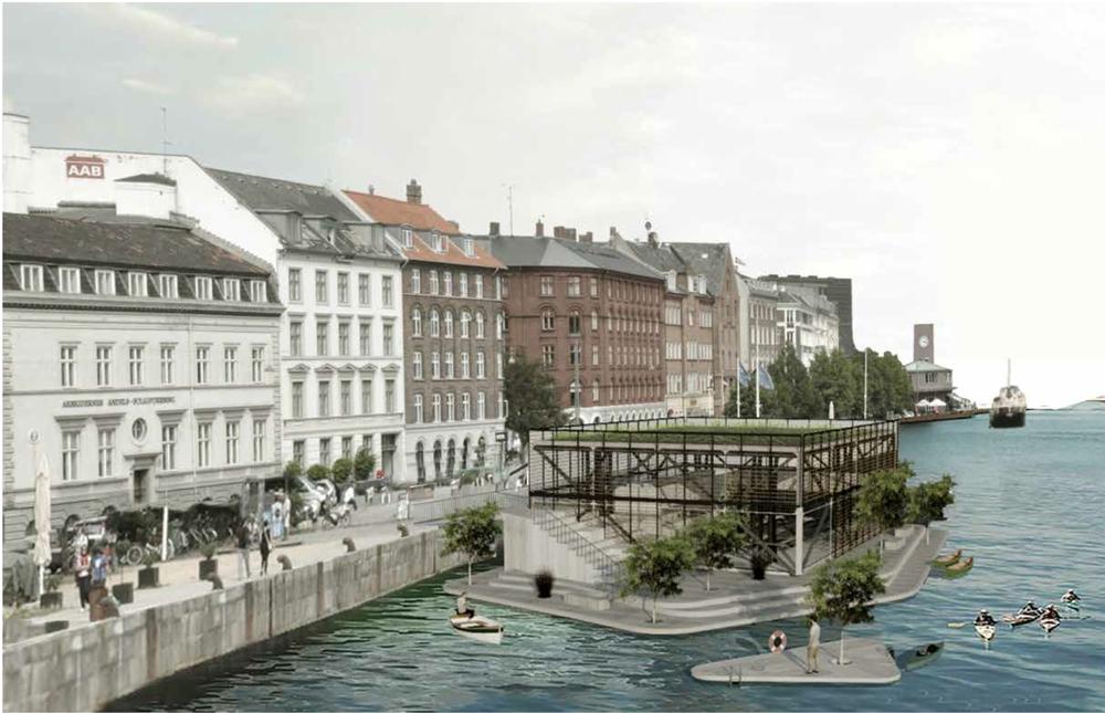 îles flottantes, kansei, architecture, urbanisme, copenhague