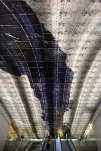 Art métro Toulouse station Carmes