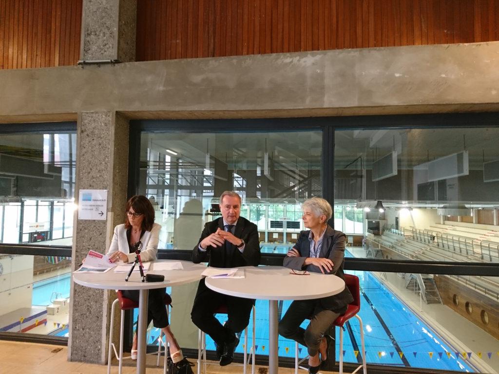 plan piscine, Mairie, toulouse, rénovation piscines