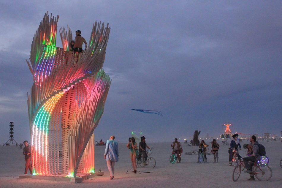 burning man, Arthur Mamou-Mani, architecte