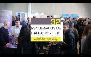 Le rendez-vous de l'architecture : 32ème édition