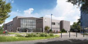Un béton bas carbone Cemex pour l'école Jean Zay