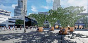 Première mondiale à Toulouse : installation d'une canopée urbaine par la start-up Urban Canopée
