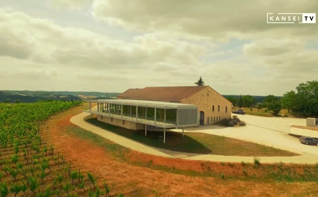 Extension du domaine Château Chambert : une greffe inattendue
