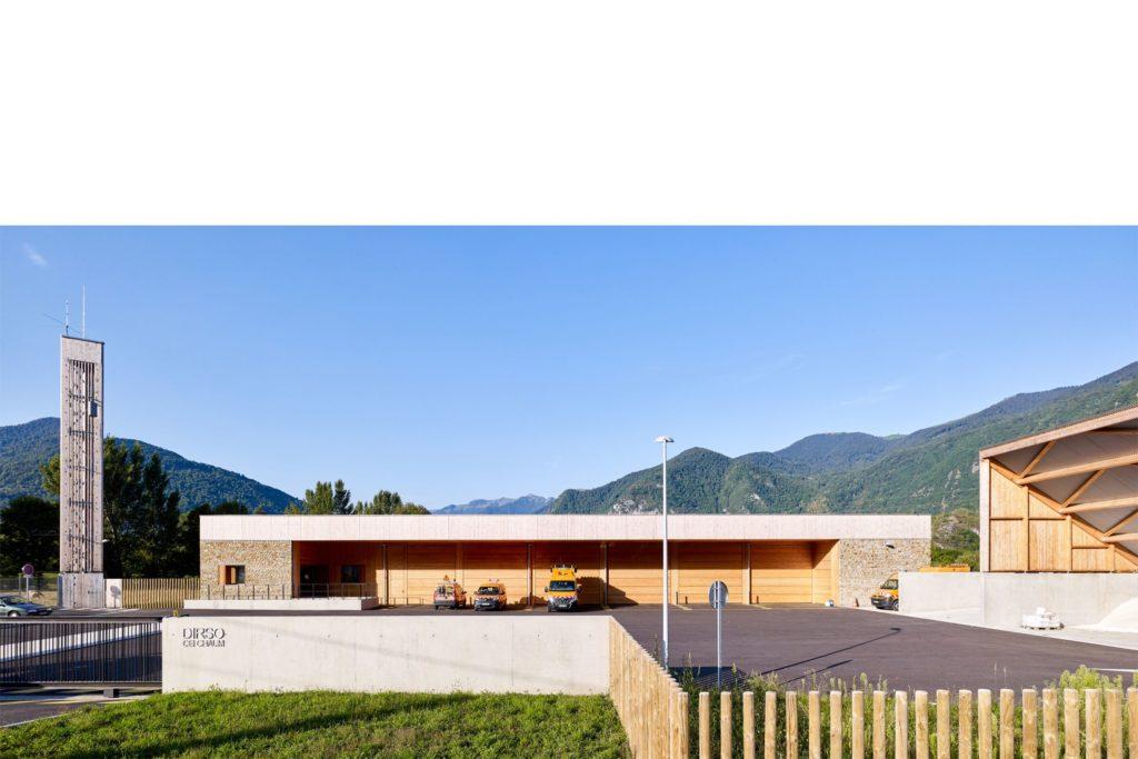 centre entretien Chaum, mention prix architecture Occitanie 2019, Kansei