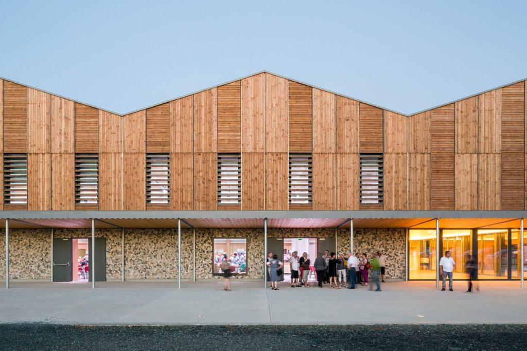 salle polyvalente Pratgraussals Albi, prix public architecture Occitanie 2019, Kansei