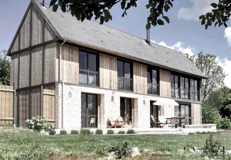 1er Prix Réhabiliter un logement, prix national de la construction bois 2020, Kansei TV