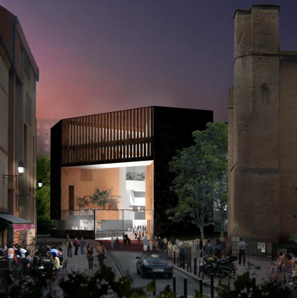 La TSE, une citadelle de briques roses signée par Grafton Architects, Pritzker 2020