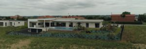 Une maison ouverte à 180° sur le Lauragais