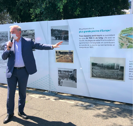 Lancement officiel de la démolition de l'ancien Parc des expositions de Toulouse par Jean-Luc Moudenc, Kansei TV