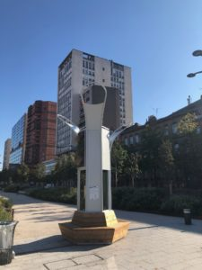 Algal : le premier arbre à algues planté à Toulouse