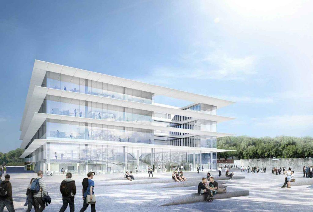 Projet de l'Atrium de l'université Montpellier III Paul Valéry, Kansei TV