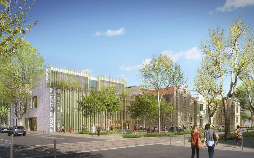 Nouveau Conservatoire de Montpellier, Kansei TV