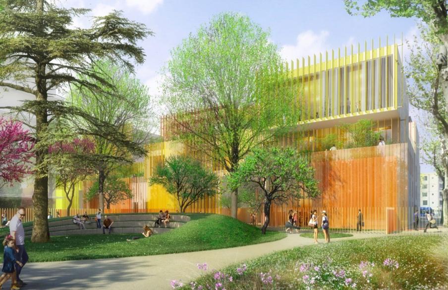 Le nouveau Conservatoire de Montpellier livré au premier semestre 2021