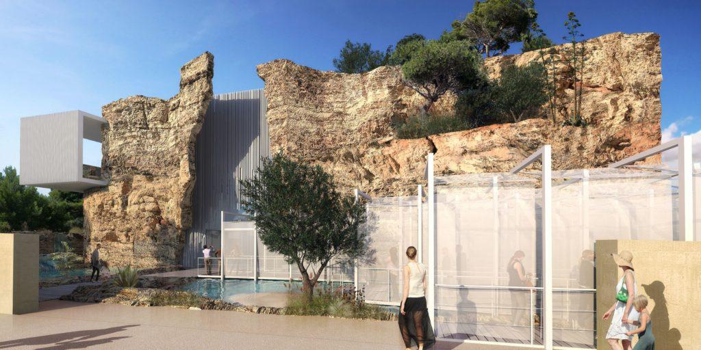 Le futur aquarium de Bayssan, Kansei TV