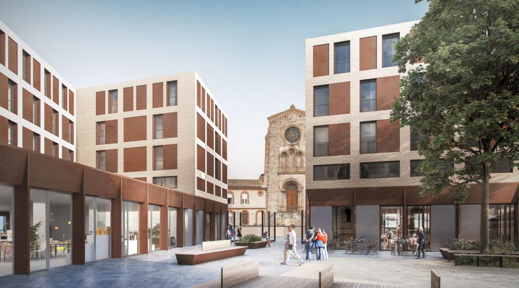 La future Cité internationale des chercheurs à Toulouse, Kansei TV