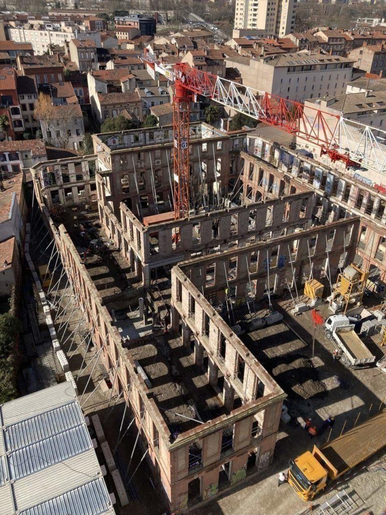 Cité Internationale des Chercheurs : un chantier au cœur de Toulouse