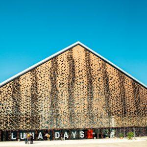 La Grande Halle de la Fondation Luma à Arles, Kansei TV