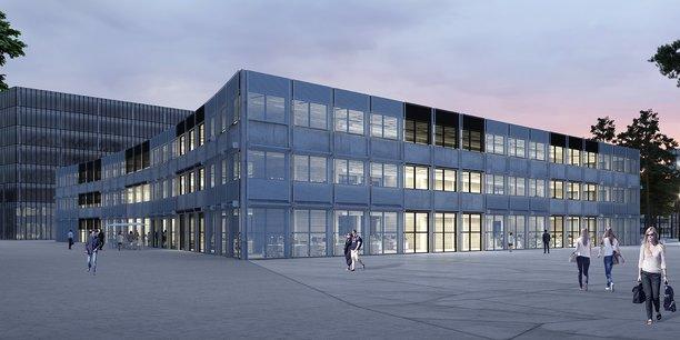 Montpellier : La Halle de l'innovation bientôt livrée